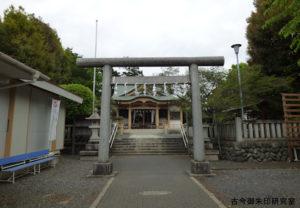 新町御嶽神社三の鳥居