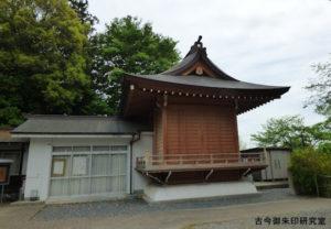 新町御嶽神社神楽殿