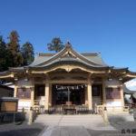 新町御嶽神社拝殿