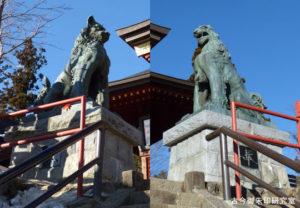 武蔵御嶽神社狛犬