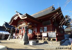 武蔵御嶽神社幣拝殿