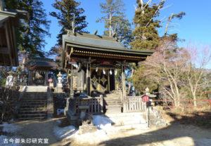 武蔵御嶽神社常磐堅磐社(旧本殿)