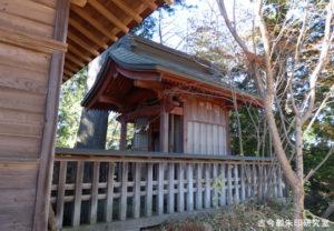 武蔵御嶽神社産安社本殿