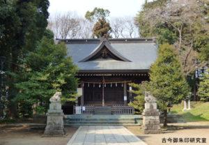 二宮神社拝殿