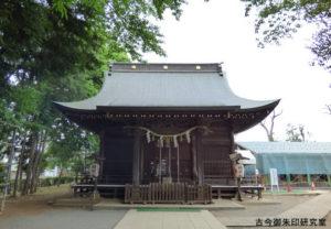 お伊勢の森神明社拝殿