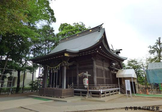 お伊勢の森神明社社殿