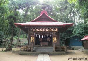 大麻止乃豆乃天神社平成19年例大祭・拝殿