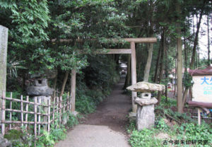 幸神神社一の鳥居