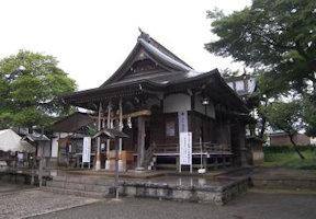拝殿(平成21年)