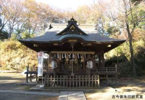 杉山神社拝殿