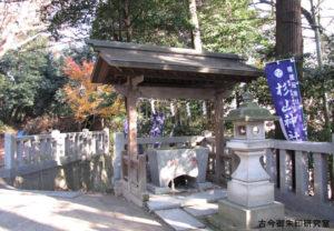 杉山神社手水舎