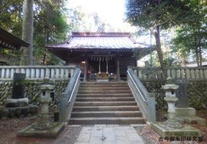 虎柏神社社殿