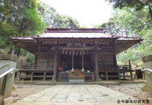 虎柏神社拝殿