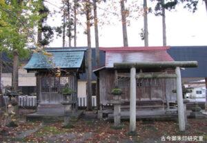 庚申宮・稲荷神社