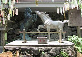 絵馬発祥の社