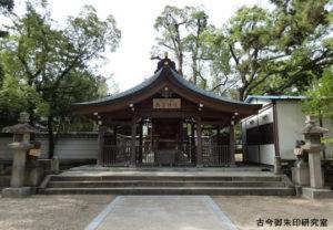 南宮神社拝殿
