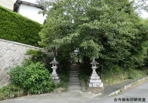名次神社東参道