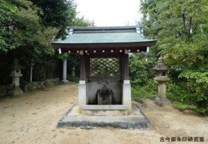 名次神社手水舎