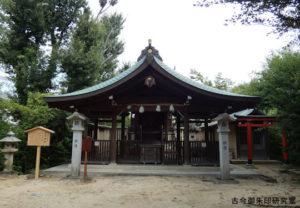 名次神社拝殿