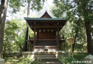岡田神社社殿