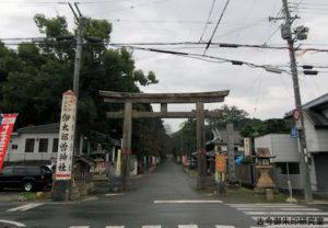 伊太祁曽神社一の鳥居