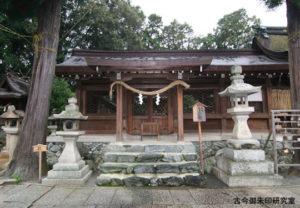 伊太祁曽神社右脇殿