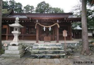 伊太祁曽神社左脇殿