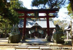 一宮神社(徳島)鳥居