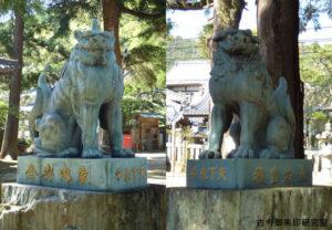 一宮神社(徳島)狛犬