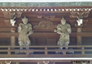 日尾八幡神社門神