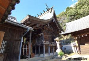 日尾八幡神社本殿