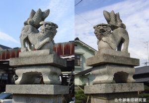 一之宮神社狛犬
