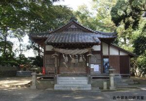 一之宮神社拝殿