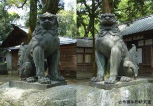 伊曽乃神社狛犬