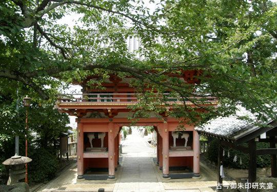 伊豫稲荷神社楼門