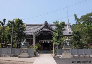 川之江八幡神社拝殿