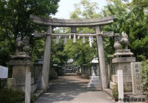 川之江八幡神社一の鳥居