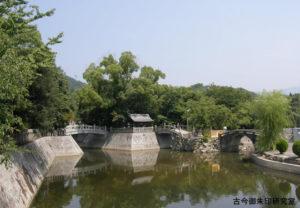 川之江八幡神社宮川と参宮橋