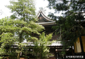 川之江八幡神社本殿