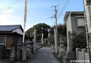 黒嶋神社(黒嶋神宮)参道