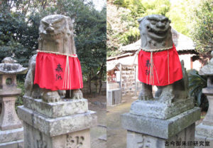 黒嶋神社(黒嶋神宮)狛犬