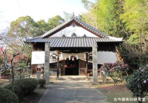 黒嶋神社(黒嶋神宮)拝殿