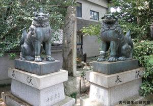 三島神社(伊予三島)狛犬