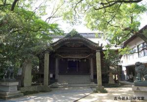 三島神社(伊予三島)拝殿