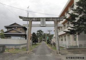 周敷神社鳥居