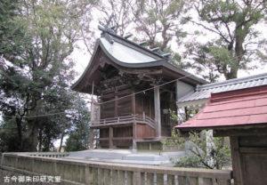 周敷神社本殿
