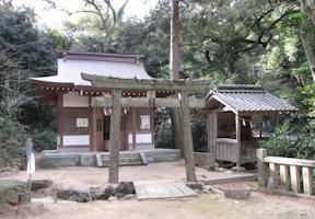 一宮神社と清水社