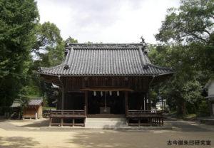 浮嶋神社舞殿