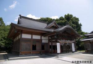 宇和津彦神社拝殿